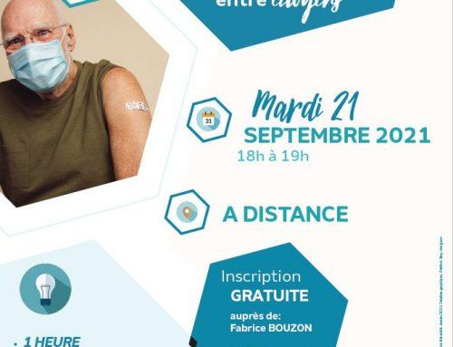 «Vaccination, je me pose des questions : rencontres entre citoyens»